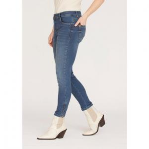 Lido Zip Jeans - Light Blue Denim