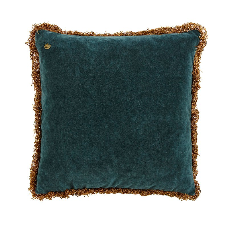 Kuddfodral Pure Velvet - Blue/Green