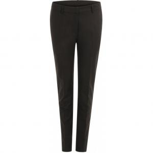Pants w. crease - Lucia - Black