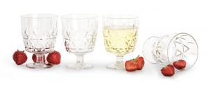Picknick glas 4-pack
