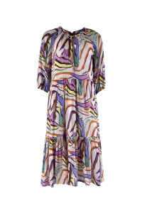 ABELLA graphic boho dress