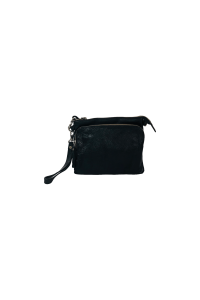 2-in-1 Wallet/Bag Black