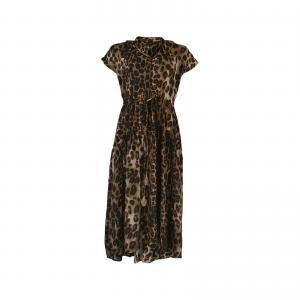 Luna Mae ss Dress - Leopard