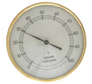 Bastu Hygrometer rund
