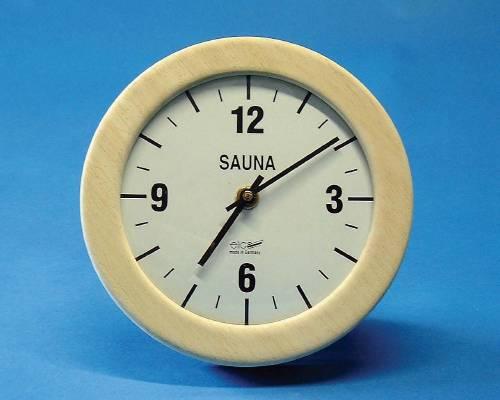 Sauna Clock, round