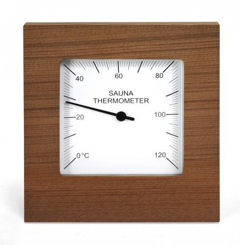 Sauna thermometer round