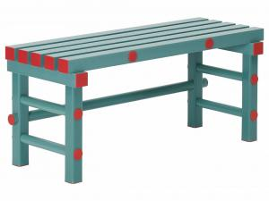 Bänk, längd 1 meter 100x40x45 cm