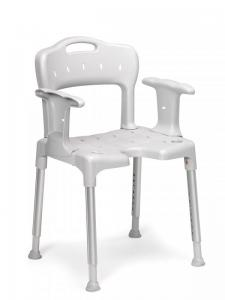 Shower stool, back and arm rest 8170 1430