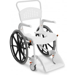 Shower stool with wheels