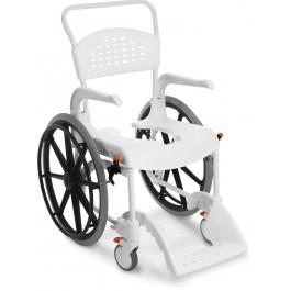 Duschstol/rullstol, stora hjul