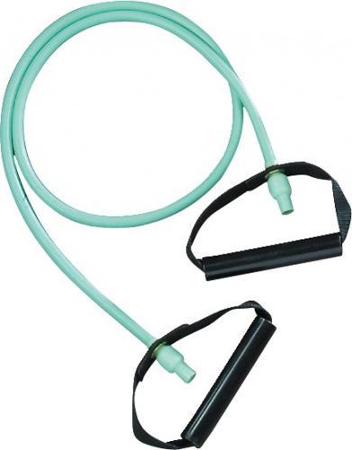 Träningsband med handtag, lätt Färg Grön