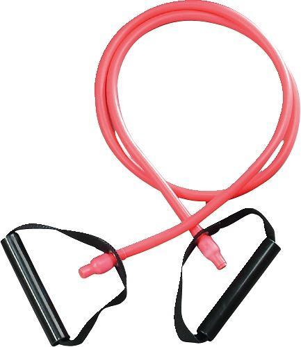 Träningsband med handtag, medium Färg Rosa