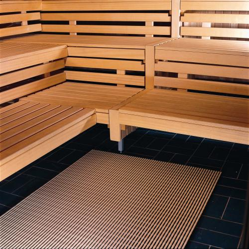Decking for sauna 60 cm wide