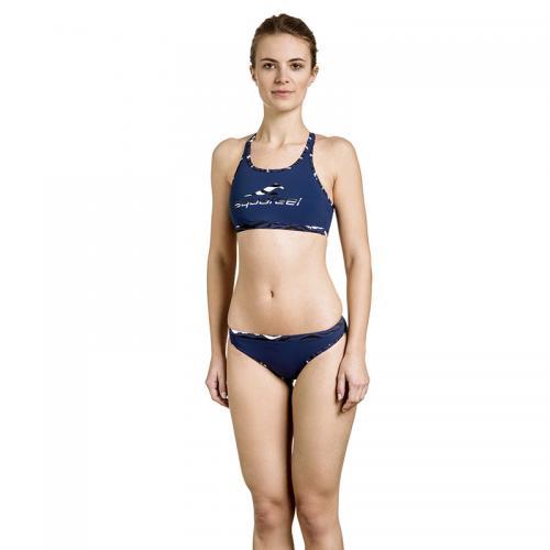 Bikini Mini-crossback Dark blue siz 34-42