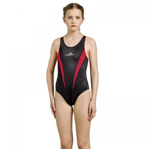 Swimwear Competitionback child Black siz 128-176