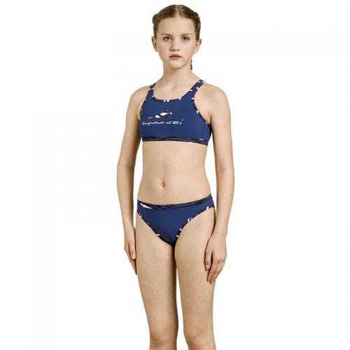 Bikini Mini-crossback child Dark blue siz 128-176