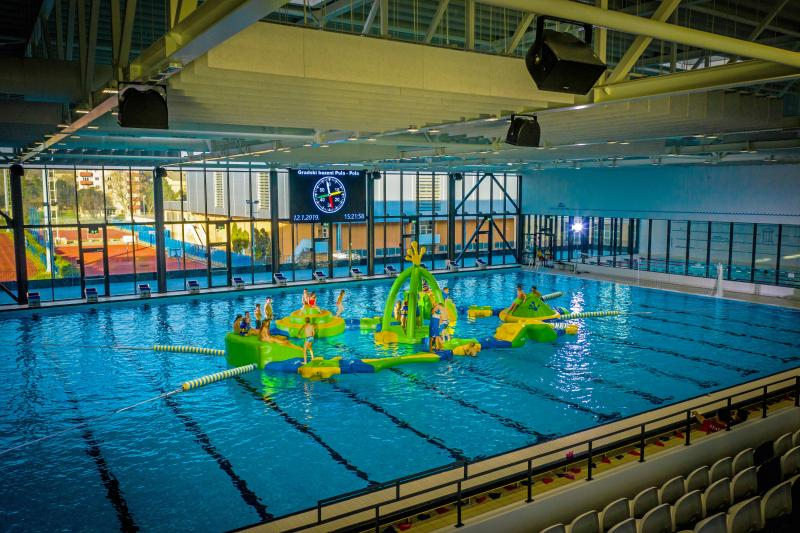 Wibit Kids Course inkl tillbehörs kit med pool booms