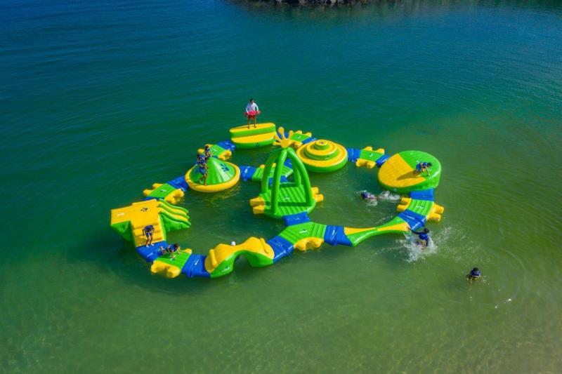 Wibit Kids Circuit, Open Water inkl tillbehörs kit, 35st flytvästar
