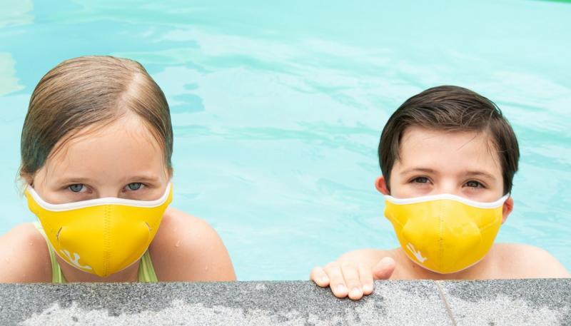 Munskydd för vatten S, gul
