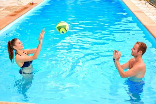 Volleyboll for the water