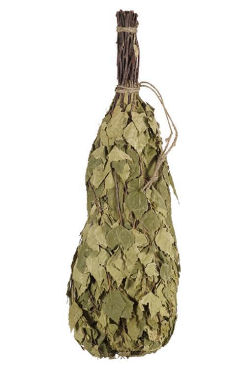 Basturuska, med torkade björklöv