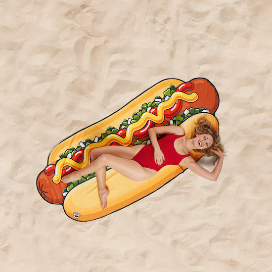 Beach towel - Hot dog