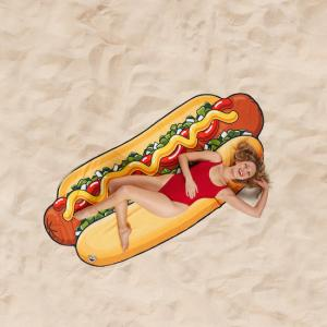 Beach towel - Hot dog