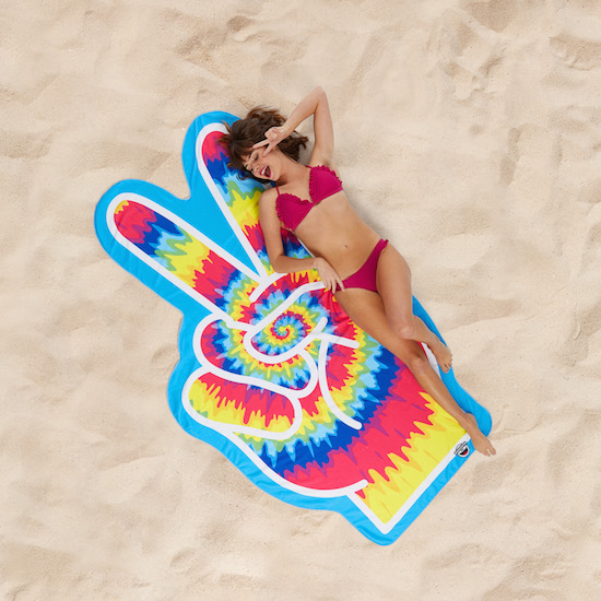 Beach towel - Peace