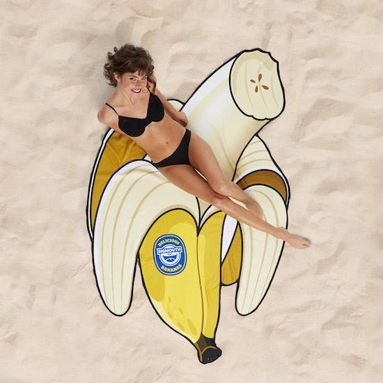 Strandhandduk - Banan