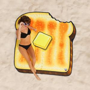 Beach towel - Toasted bread