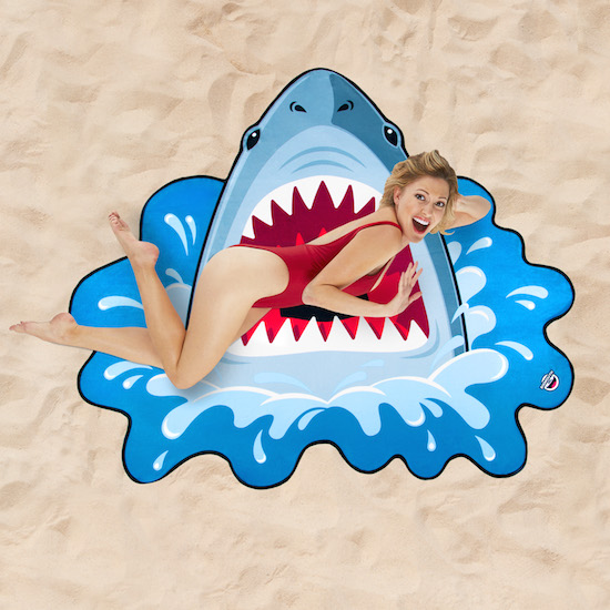 Beach towel - Shark