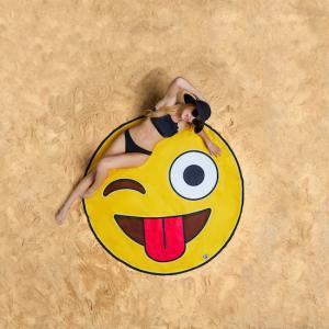 Strandhandduk - Emoji