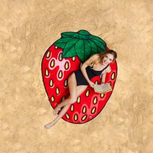 Beach towel - Straberry
