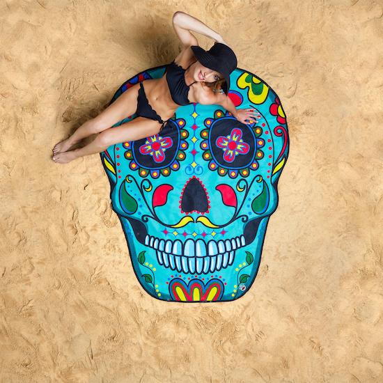 Beach towel - Skull Suger