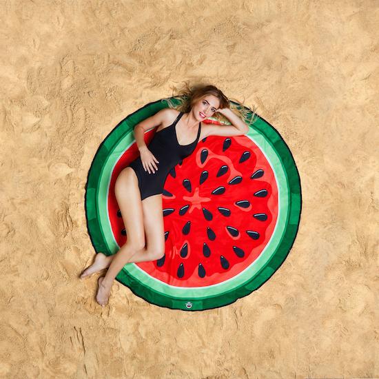 Strandhandduk - Vattenmelon