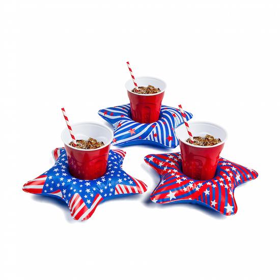 Cup holder - Patriotic stars