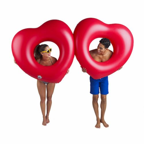 Swim ring - Two hearts
