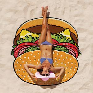 Beach towel - Hamburger
