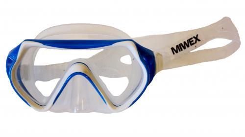 Cyklop Barn Miwex transparent/blå, transparant/gul