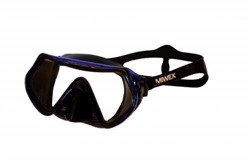 Cyklop Vuxen Miwex svart/blå, svart/röd