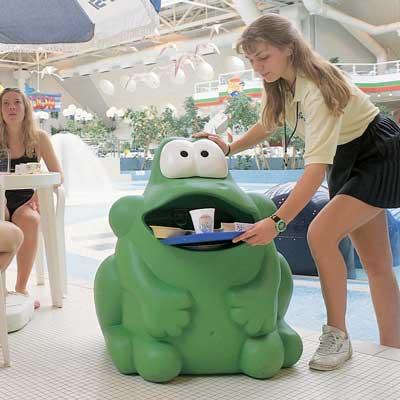 Litter bin Froggo