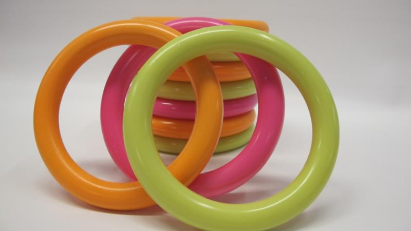 Diving ring Neon colored 10pcs/set