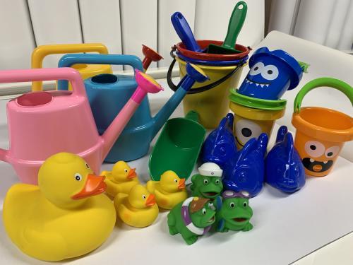 Plasklek Set tot 22st leksaker