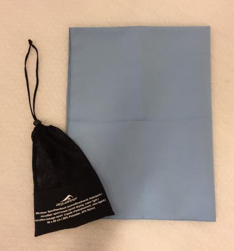 Handduk microfiber 60 x80 cm 4207M