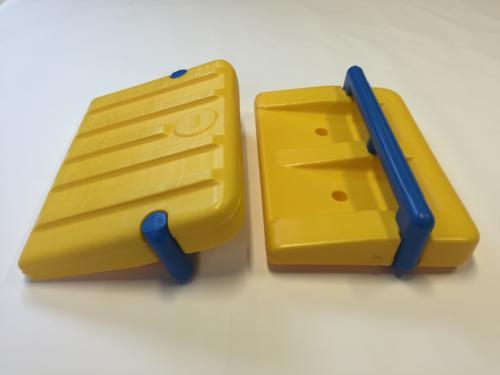 Swim board with handles, Rollo