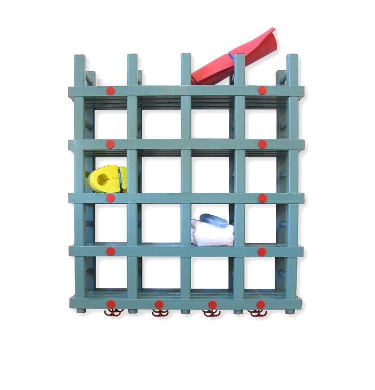 Handduksförvaring 1100x290x1070/1220 mm (LxDxH)