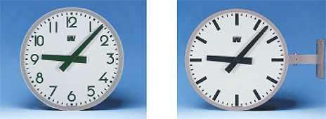 Klocka med siffror, minutsträck Ø 600 mm