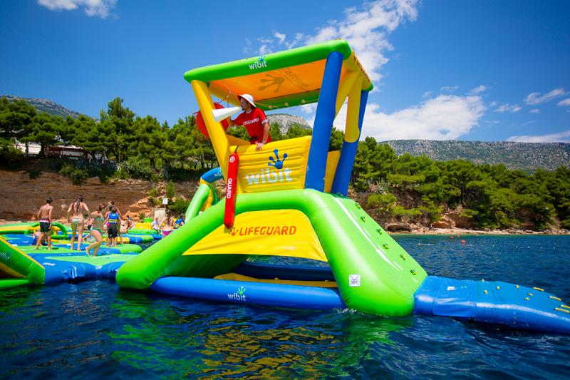 Lifeguard Tower inkl 2 st bungee