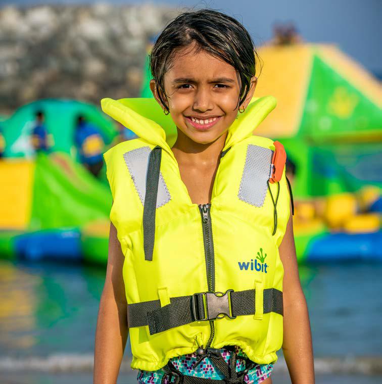 Lifejacket Kids for kids < 30 kg