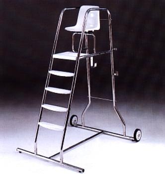 Bevakningstol med hjul